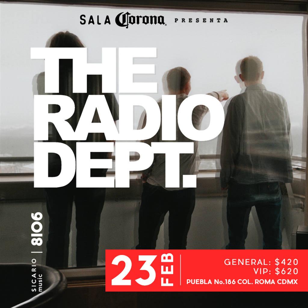 SALA CORONA Presenta: The Radio Dept : Fotografía © SALA CORONA, cortesía de Sicario TV
