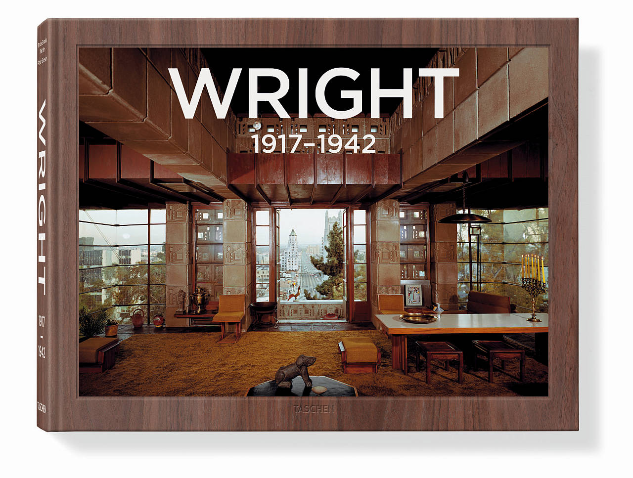 Frank Lloyd Wright. Complete Works. Vol. 2, 1917–1942 - Bruce Brooks Pfeiffer, Peter Gössel, Tapa dura, 40 x 31 cm, 488 páginas : Cover © TASCHEN