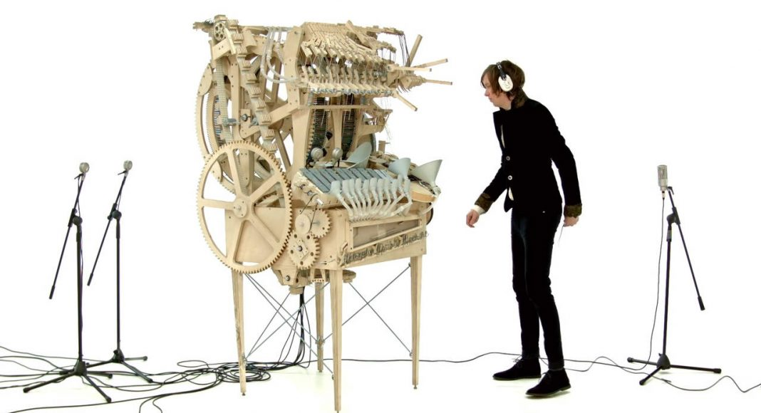 Wintergatan Marble Machine Hannes Knutsson : Photo courtesy of © ArtFutura 2016