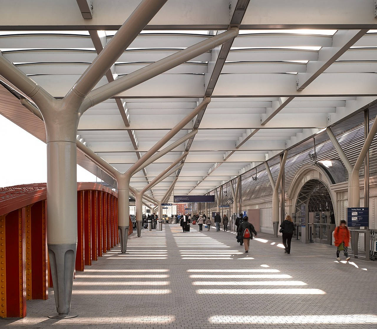 Paddington Integrated Project by Weston Williamson + Partners : Photo credit: © Nick Guttridge
