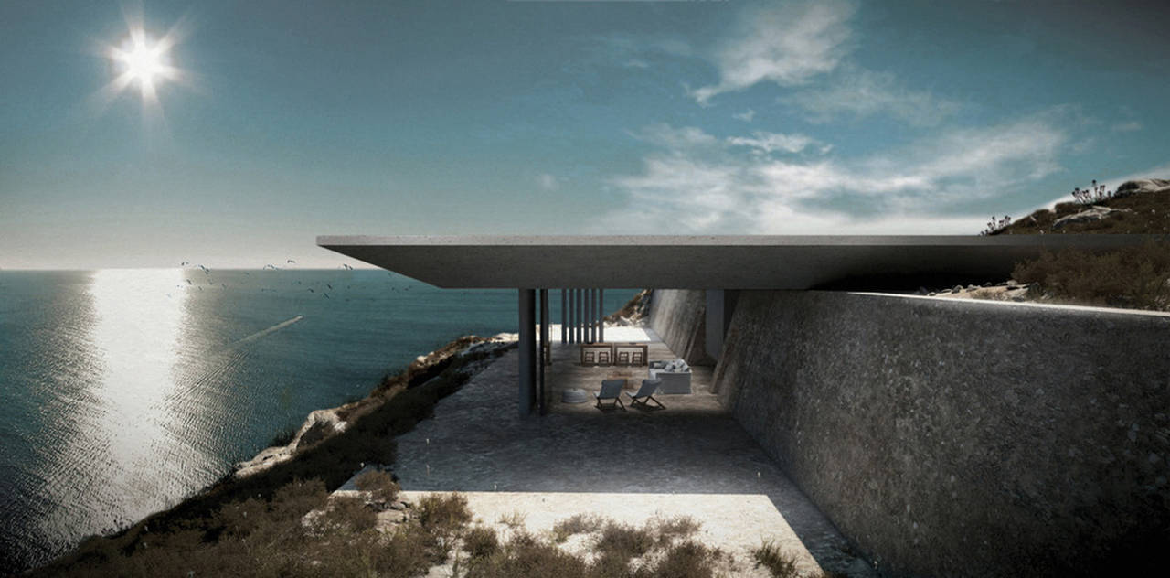 Mirage Residence View 05 in Tinos, Greece by Kois Associated Architects : Photo credit © Kois Associated Architects