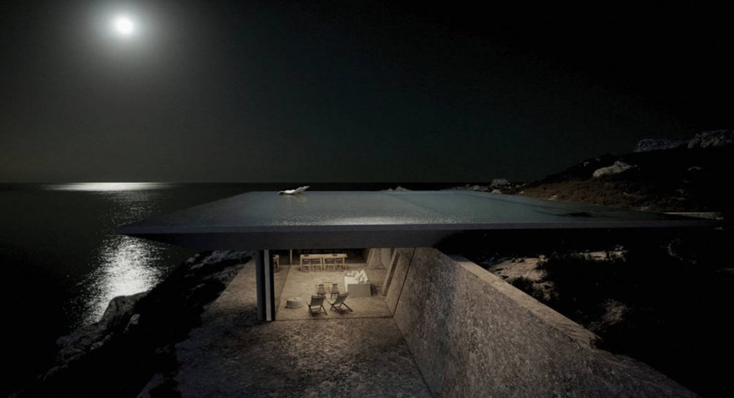 Mirage Residence View 07 in Tinos, Greece by Kois Associated Architects : Photo credit © Kois Associated Architects