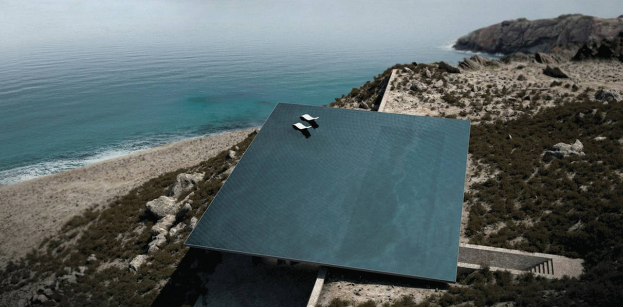 Mirage Residence View 02 in Tinos, Greece by Kois Associated Architects : Photo credit © Kois Associated Architects
