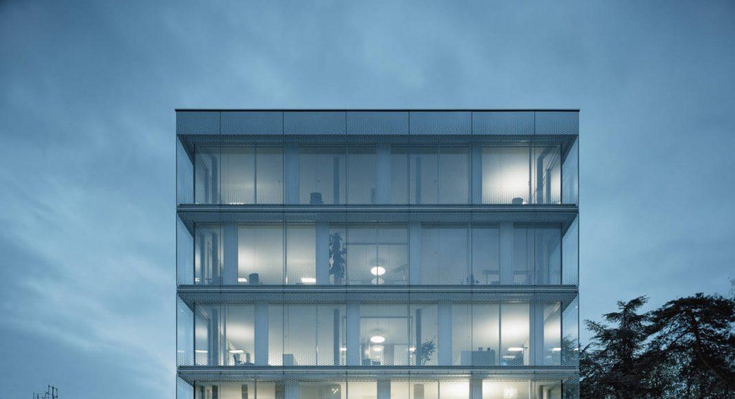 Crystalline Volume World Trade Organization in Genève, Switzerland by Wittfoht Architekten : Photo credit © Brigida González