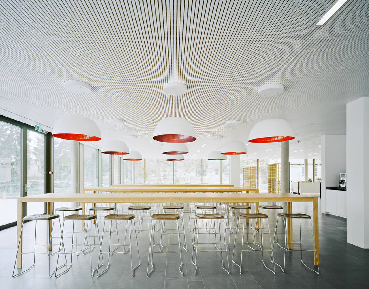 Restaurant World Trade Organization in Genève, Switzerland by Wittfoht Architekten : Photo credit © Brigida González