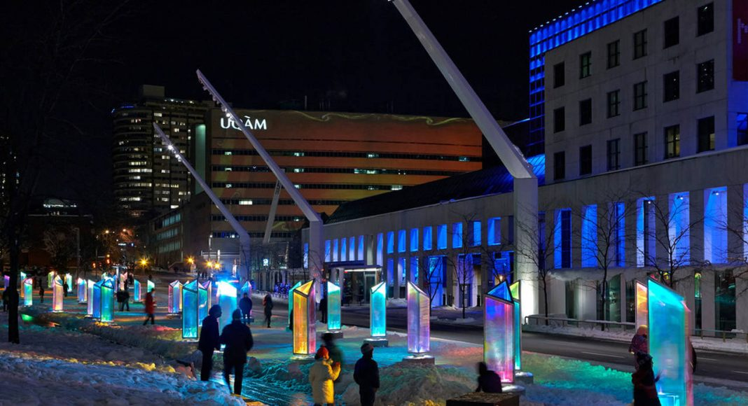 Prismatica, Place des Festivals, Quartier des Spectacles, Montreal : Photo credit © James Brittain