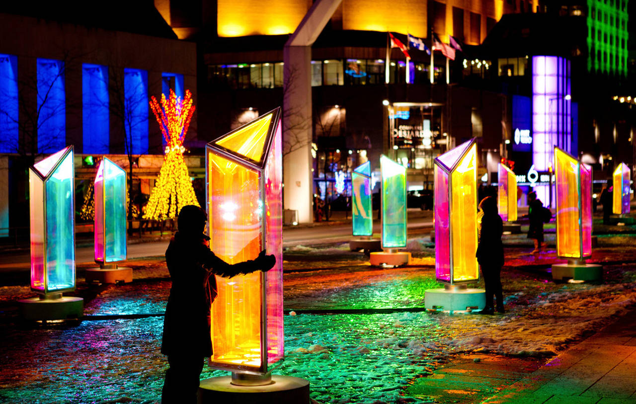 Prismatica, Place des Festivals, Quartier des Spectacles, Montreal : Photo credit © Cindy Boyce