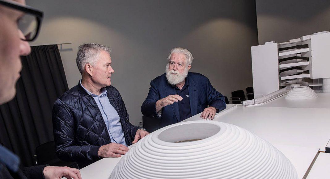 Schmidt Hammer Lassen Architects and JamesTurrell ARoS Next Level : Photo © Morten Fauerby Montgomery