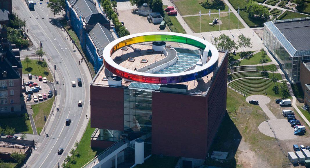 ARoS Aarhus Art Museum Your Rainbow Panorama : Photo © Petri and Betz