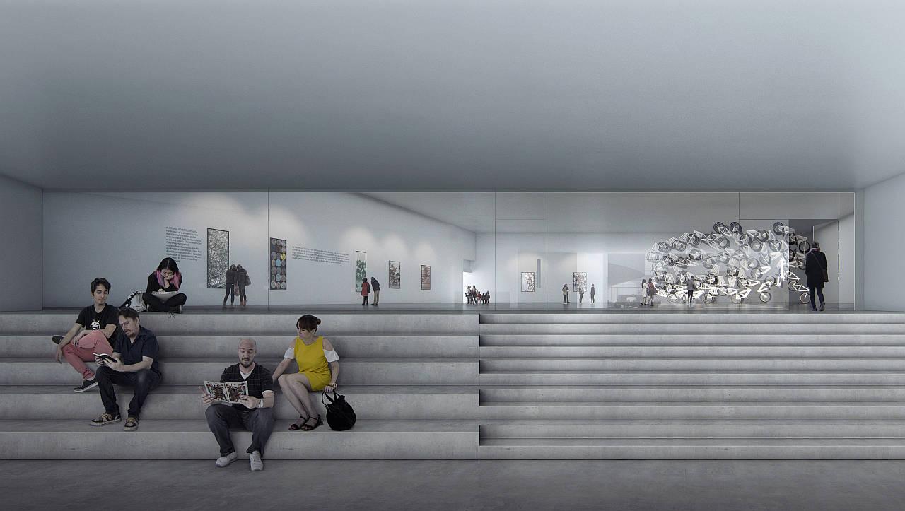 Aros Next Level Schmidt Hammer Lassen Architects ENTRANCE : Render Beauty & The Bit © Schmidt Hammer Lassen Architects and © James Turrell
