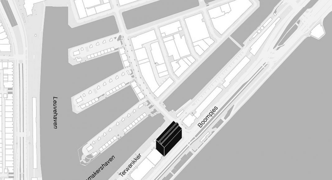 De Bank by KAAN Architecten Building Area Site Plan : Drawing © KAAN Architecten