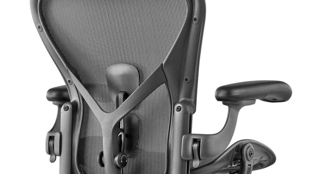Silla Aeron Renovada Detalle PostureFit by Herman Miller : Fotografía © Herman Miller México