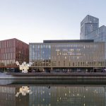Schmidt Hammer Lassen Architects Malmo Live View from the Waterfront : Photo courtesy of © Schmidt Hammer Lassen Architects