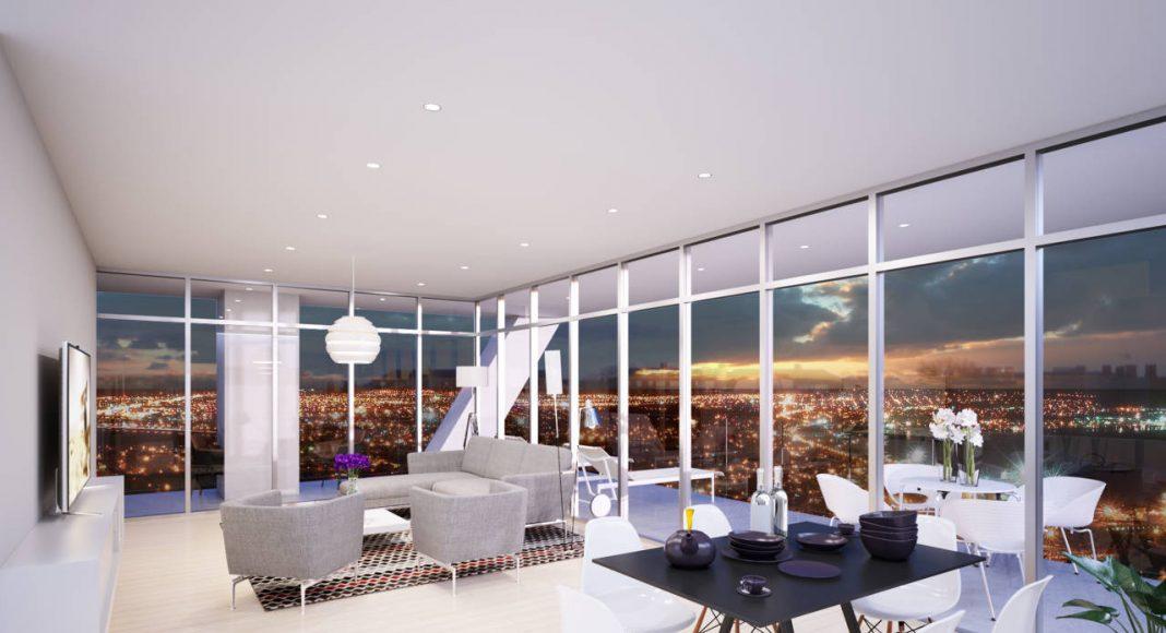 Agatha Premium Living A1 Popocatepétl Vista Espacios Interiores : Render © Grupo Inmobiliario Quiero Casa