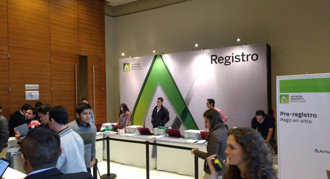 Evento de Autodesk University México con la participación de socios de la industria de Autodesk México : Fotografía © Autodesk México