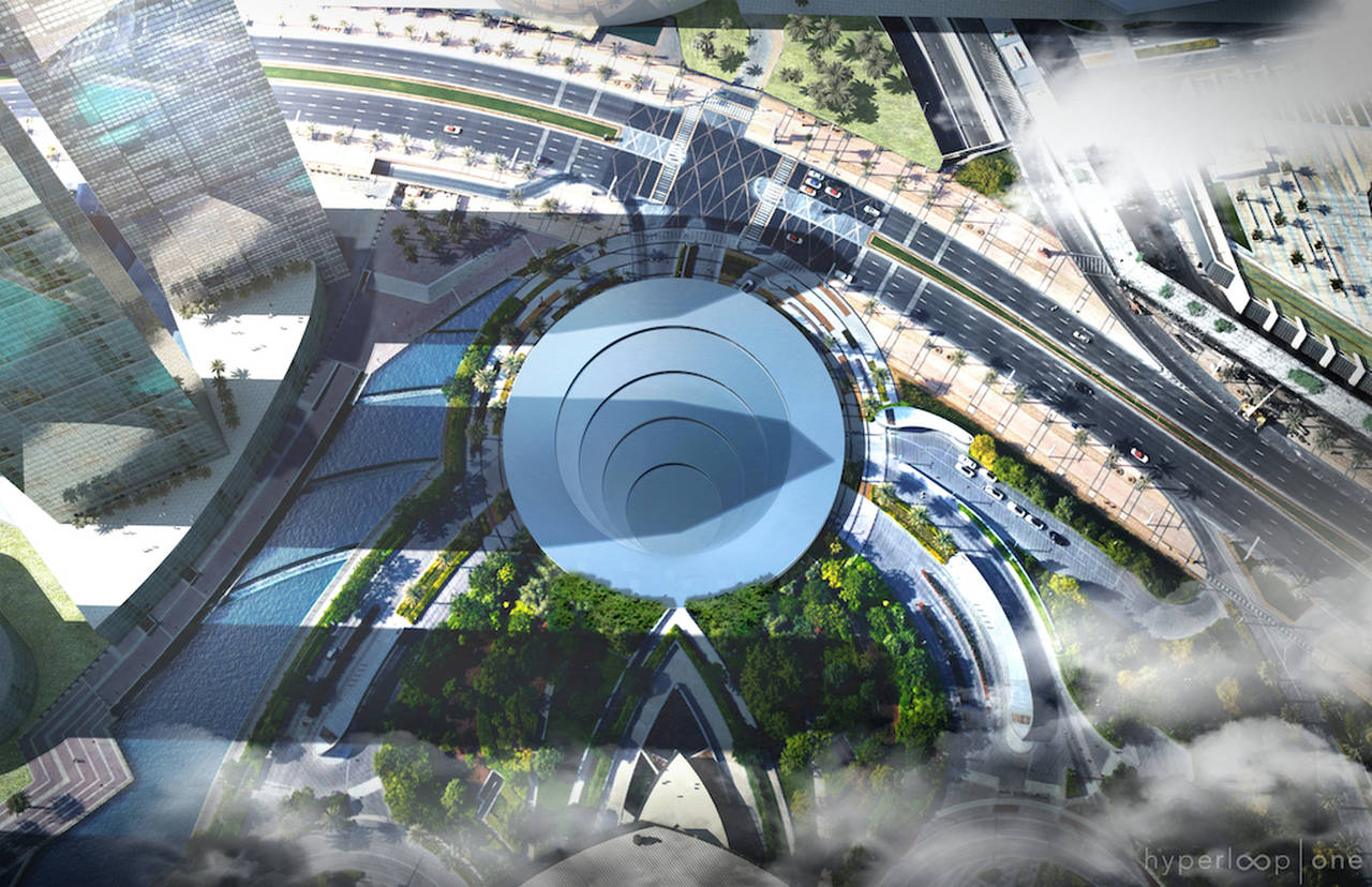 BIG & Hyperloop One Reveal Joint Vision for the Future of Mobility : Render © BIG