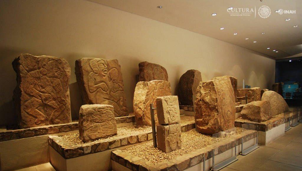 Museo de sitio de la Zona Arqueológica de Monte Albán : Foto © Héctor Montaño INAH
