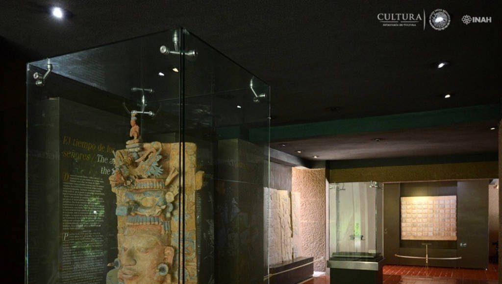 Museo de sitio de la Zona Arqueológica de Palenque : Foto © Mauricio Marat INAH
