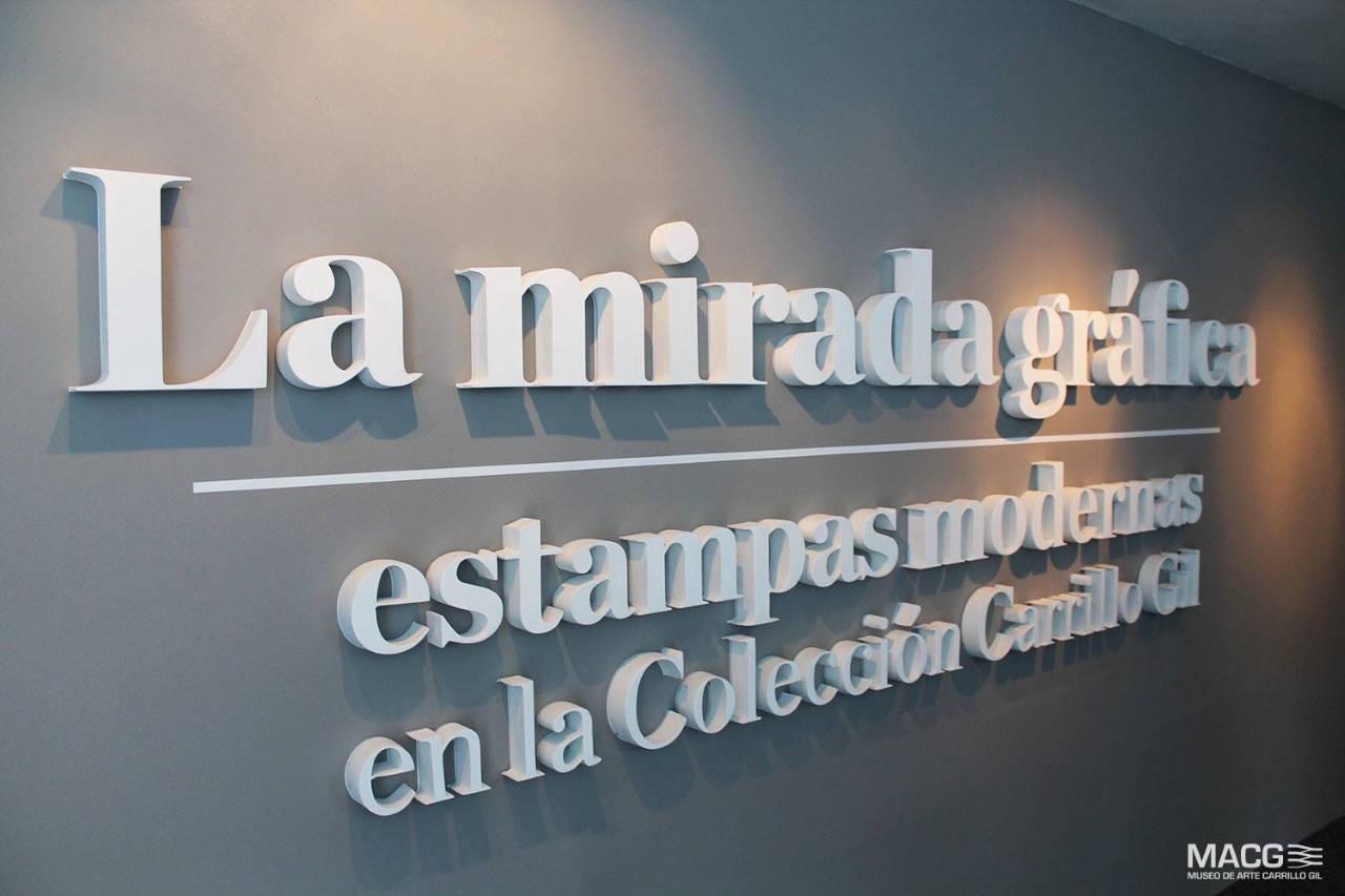 Exposición La mirada gráfica en el Museo de Arte Carrillo Gil : Fotografía © CONACULTA