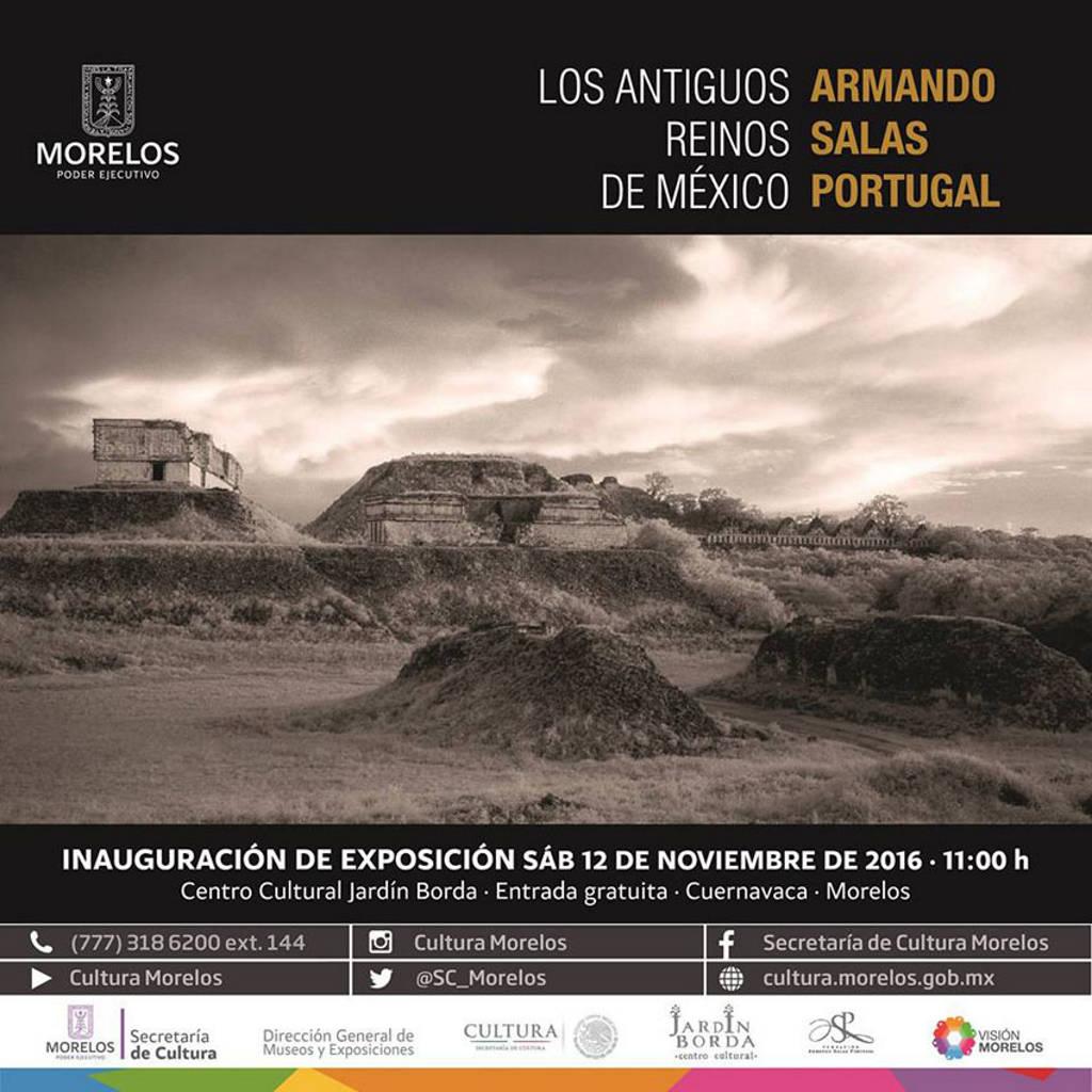 Armando Salas Portugal Los Antiguos Reinos de México : Cartel cortesía de la © Secretaría de Cultura de México