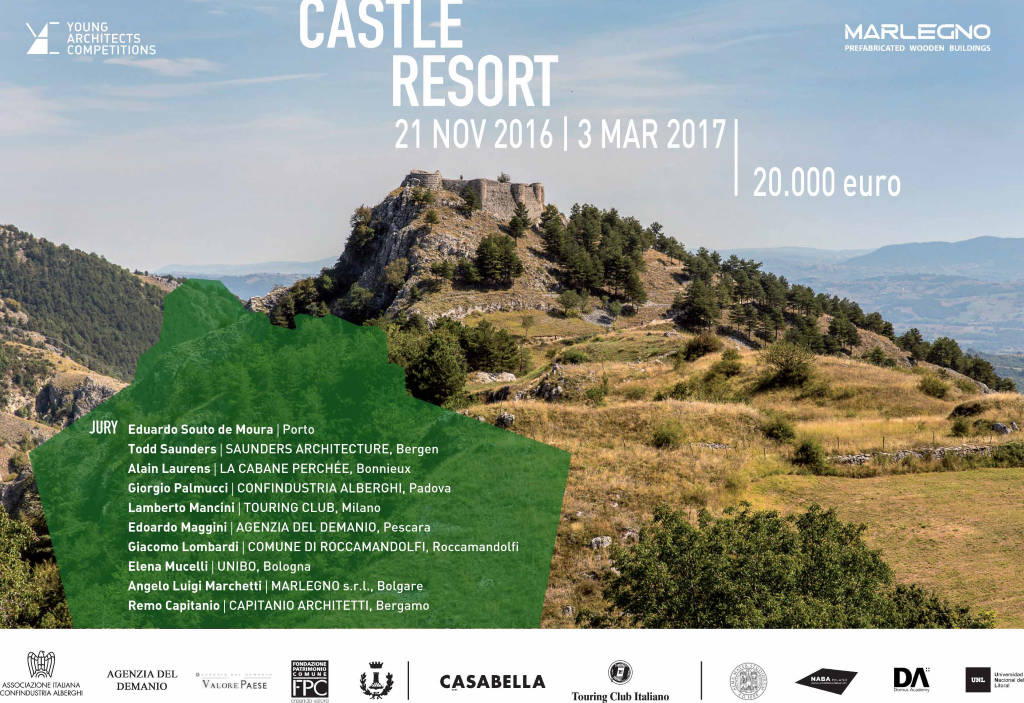 Young Architects Competitions lanza el Concurso Castle Resort : Cartel © YAC