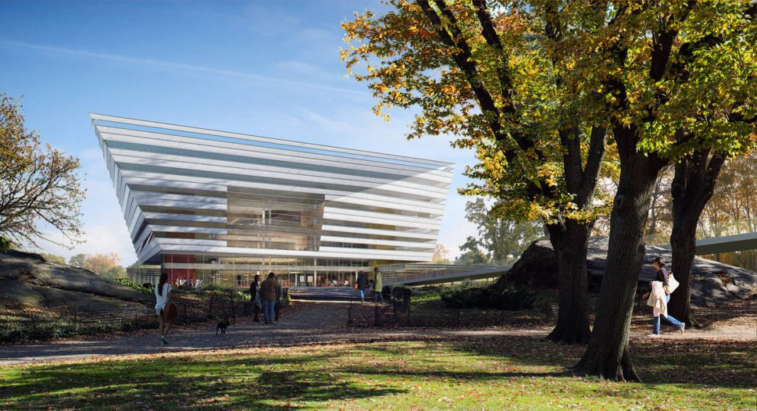 New Shanghai Library Exterior by Day in Shanghai, China by Schmidt Hammer Lassen Architects : Render © Beauty & the Bit