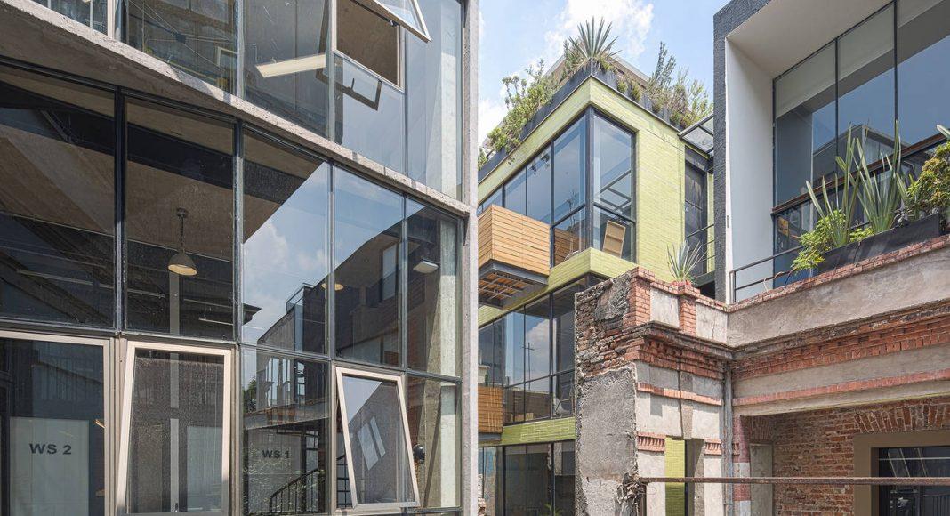 Proyecto de Reciclaje Urbano Havre 77 por el estudio Francisco Pardo Arquitecto : Fotografía © Diana Arnau