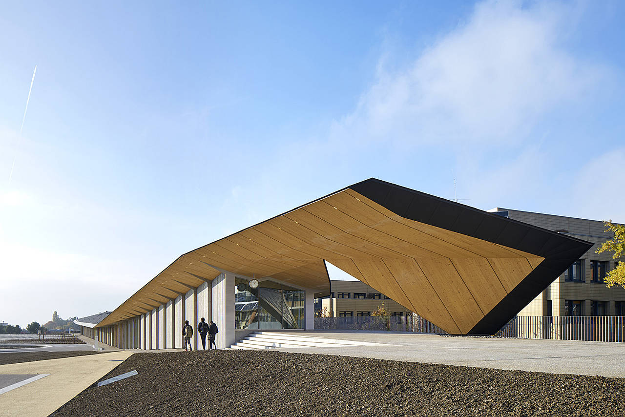 EPFL ArtLab by Kengo Kuma : Photo credit © Michel Denancé