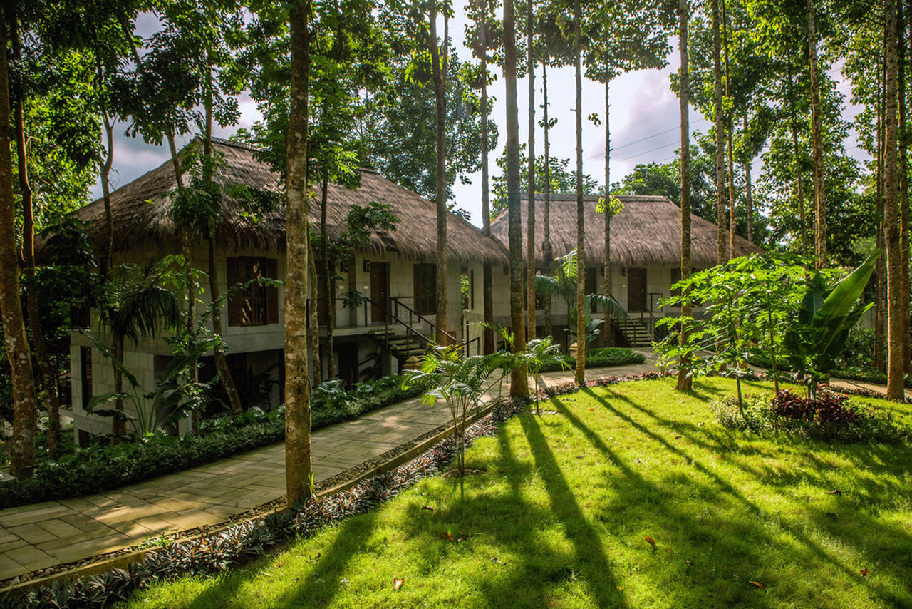 Dusai Resort & Spa Cottages in Bangladesh por VITTI Sthapati Brindo Ltd. : Photo credit © Ahsanul Haque Rubel