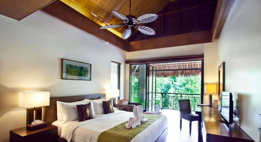 Dusai Resort & Spa Hotel Interior in Bangladesh por VITTI Sthapati Brindo Ltd. : Photo credit © Digita Interactive Limited
