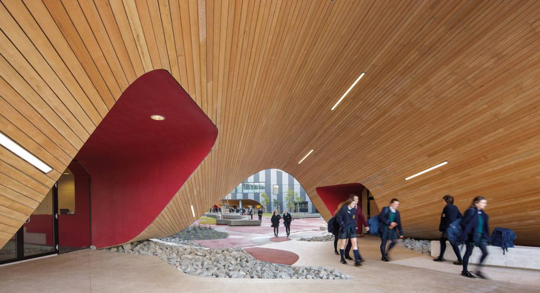 The Infinity Centre Main Entrance by McBride Charles Ryan : Photo credit © John Gollings