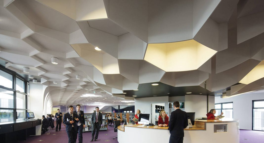 The Infinity Centre Library by McBride Charles Ryan : Photo credit © John Gollings