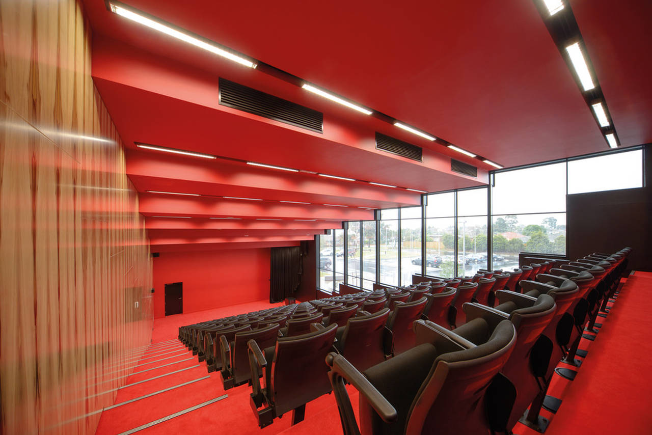 The Infinity Centre Lecture Theatre by McBride Charles Ryan : Photo credit © John Gollings