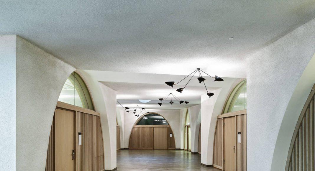 Jazz Campus Basement Floor en Basilea, Suiza diseñado por Buol&Zünd : Photo credit © Georg Aerni