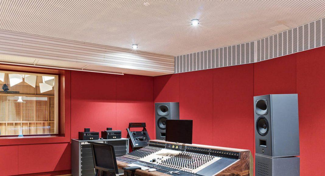 Jazz Campus Recording Studio en Basilea, Suiza diseñado por Buol&Zünd : Photo credit © Georg Aerni