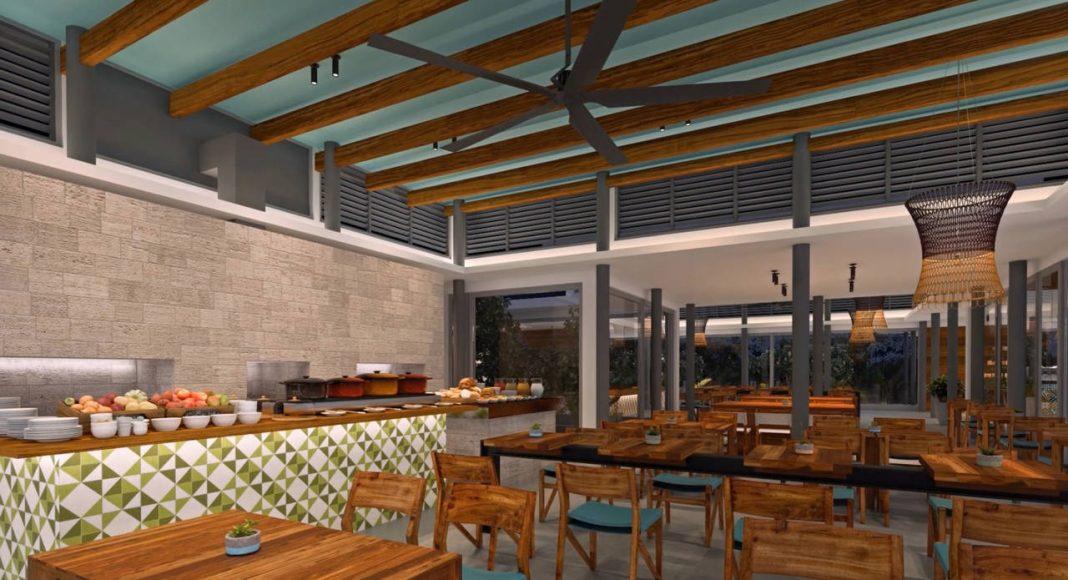 Andaz Mayakoba Resort Pool Restaurant : Render © Mayakoba