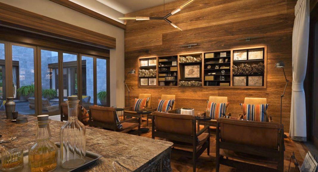 Andaz Mayakoba Resort Restaurante Casa Bar : Render © Mayakoba