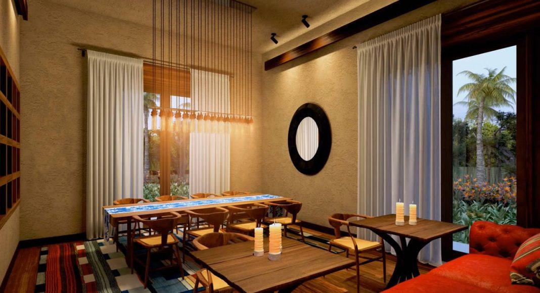 Andaz Mayakoba Resort Restaurante Casa : Render © Mayakoba