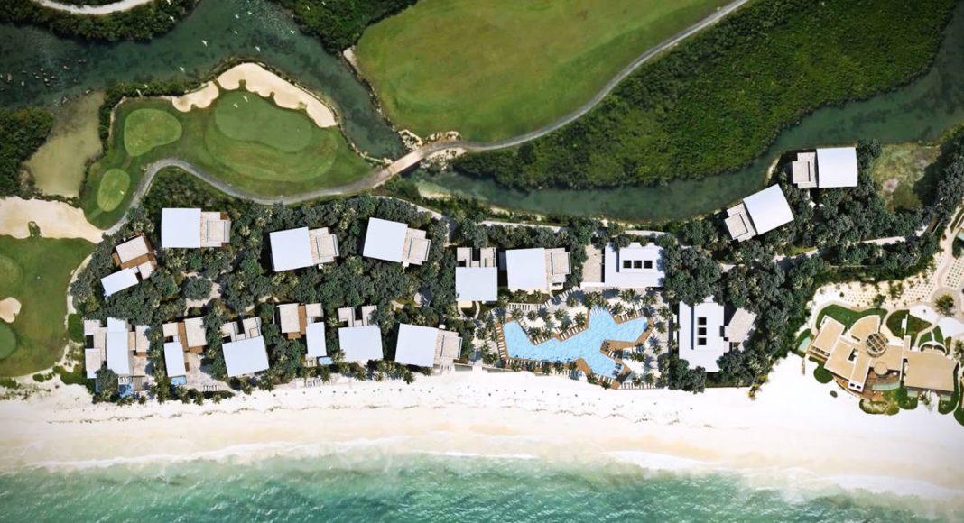 Andaz Mayakoba Resort Playa : Render © Mayakoba