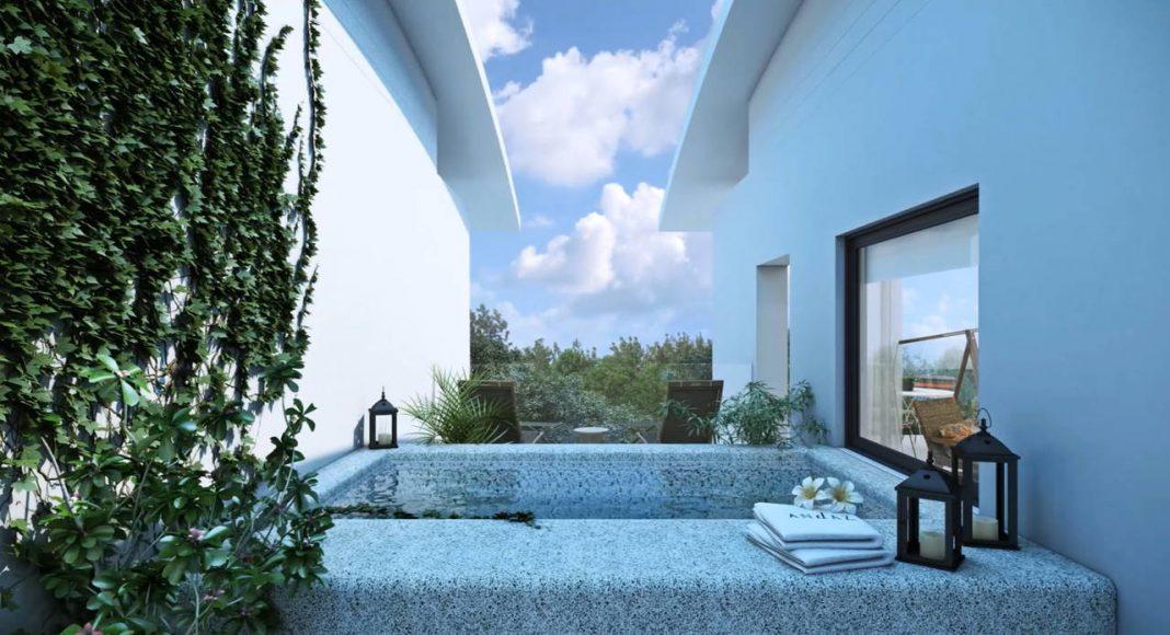 Andaz Mayakoba Resort Jacuzzi Suite : Render © Mayakoba