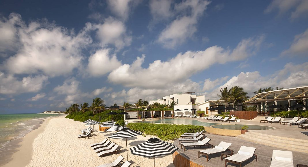 Beach Rosewood at Mayakoba : Photo © Mayakoba Resort
