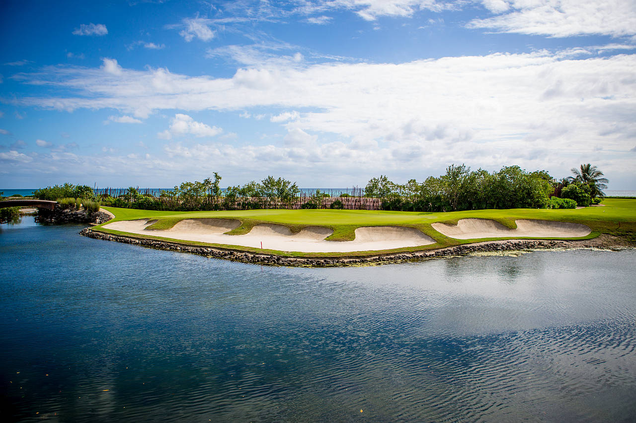 El Camaleon Golf Course at Mayakoba : Photo © Mayakoba Resort