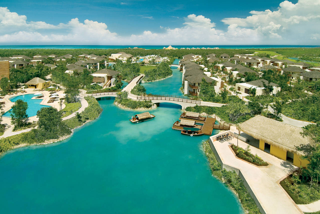 Mayakoba Panoramic View : Photo © Mayakoba Resort