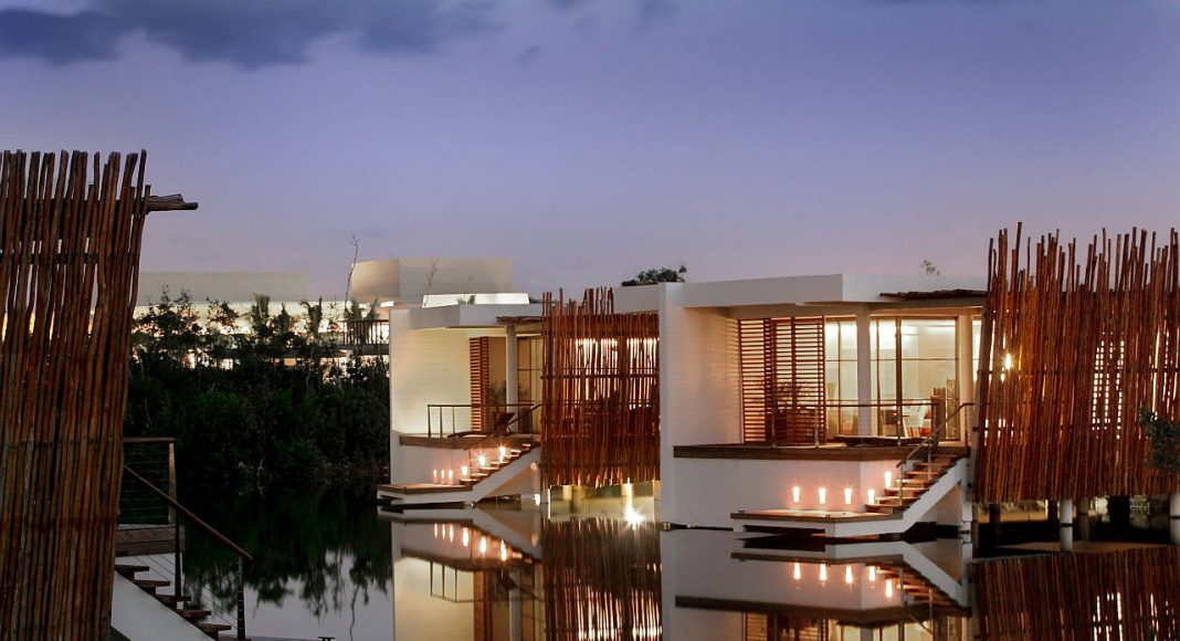 Over the Water Villa Rosewood Mayakoba : Photo © Mayakoba Resort