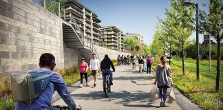 Ryan Gravel: Cómo una antigua vía férrea está cambiando la apariencia de una ciudad : Photo © TED Conferences LLC