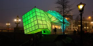 Eye_Beacon Pavilion for the Amsterdam Light by UNStudio and MDT-tex : Photo © Janus van den Eijnden