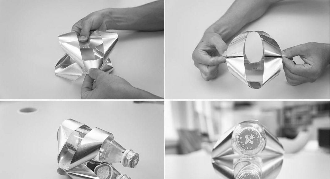 Ribbon Wine Rack, designed by Ben van Berkel / UNStudio for Alessi : Photo © UNStudio