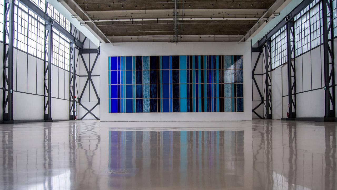 Sofía Táboas: Azul Extensivo en el Museo Universitario del Chopo : Fotografía © Museo Universitario del Chopo