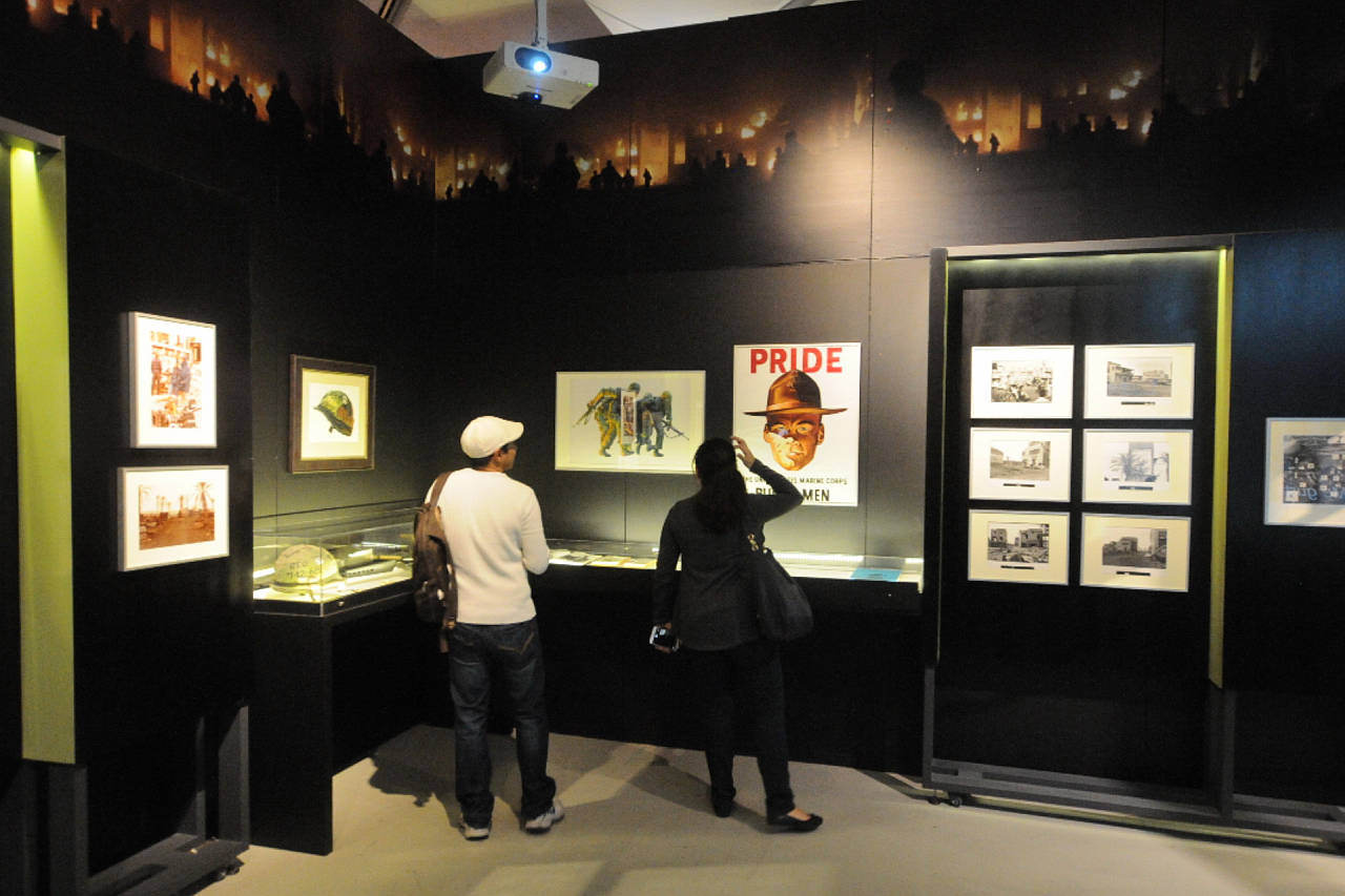 Stanley Kubrick: La Exposición en La Galería de la Cineteca Nacional : Fotografía © ALR, CONACULTA