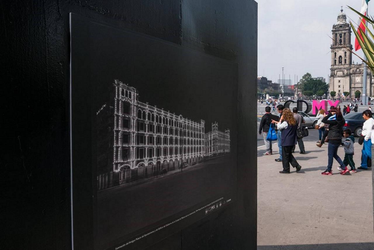 Exposición A 80 años de la Apertura de la Avenida 20 de Noviembre : Fotografía © Cultura CDMX